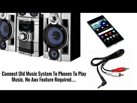 How To Connect Mobile Phone To Your Old Music Player