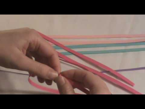 Quilling Instructions Quilled Flower Youtube