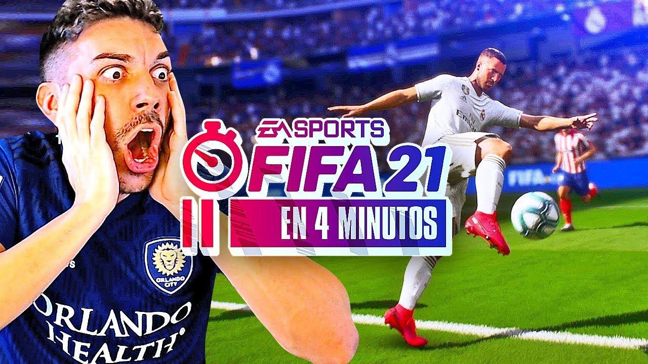 FIFA 21 en 4 MINUTOS !!!!