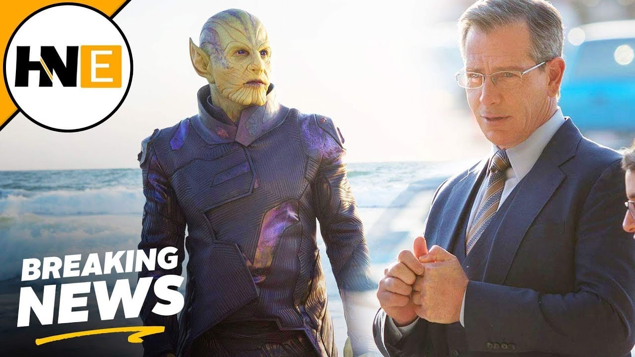 Captain Marvel First Look At Mcu Skrulls Youtube