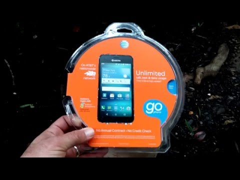 Kyocera hydro air unboxing water test