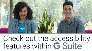 Accessibility Suite in G | G Suite Zeigen