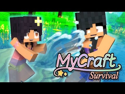 Swimming Little Baby | MyCraft Family Minecraft Survival [Ep.7]
