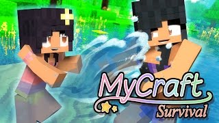 swimming-little-baby-mycraft-family-minecraft-survival-ep-7