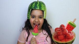 수박 자매 Watermelon shaved ice Mukbang Shfa  먹방