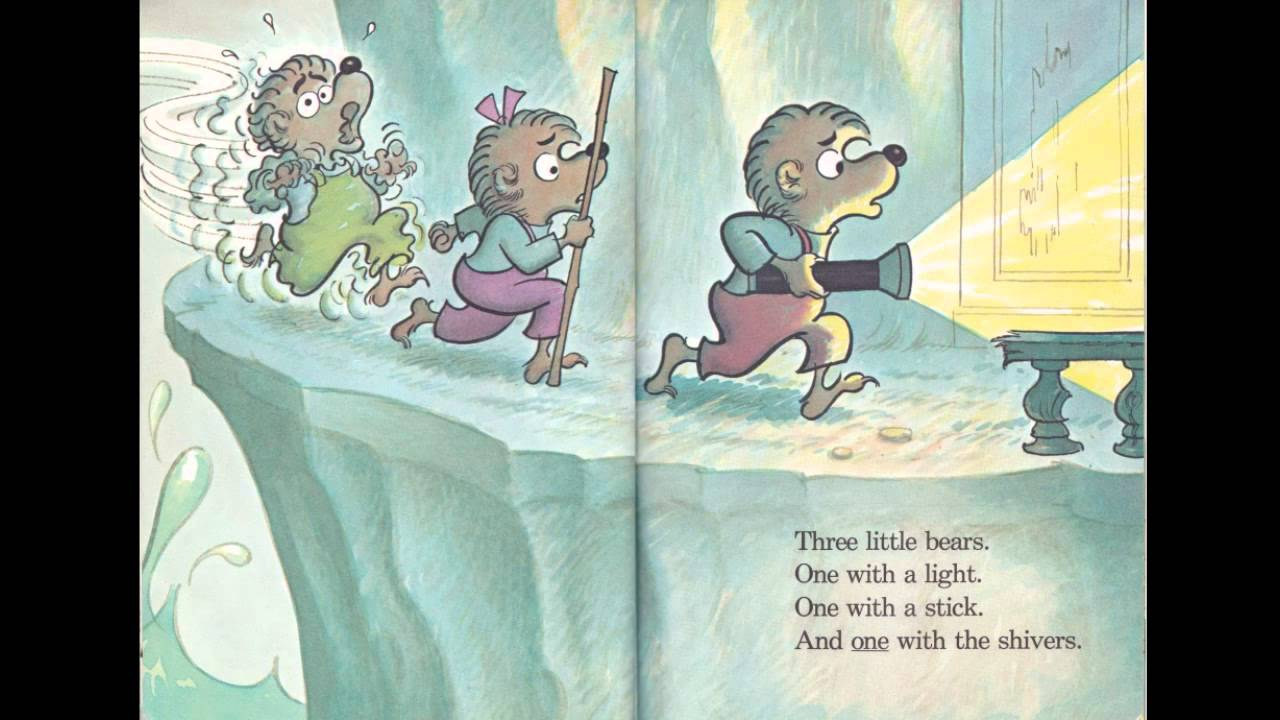 The berenstain bears and the spooky old tree read along book on