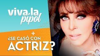 ¿Verónica Castro tuvo una boda gay? Actriz asegura que se casó con la cantante - Viva La Pipol