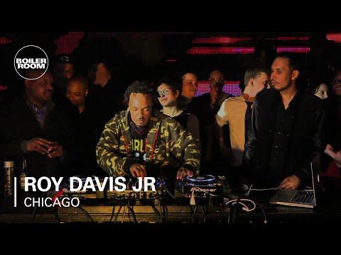 Roy Davis Jr Boiler Room Chicago DJ Set  YouTube