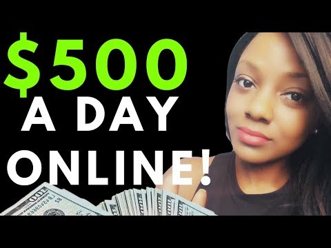 😎4 Steps to $500 a Day Online w Affiliate Marketing