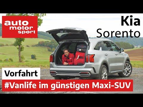 Kia Sorento (2020): Gibt's hier viel für wenig? – Vorfahrt (Review) | auto motor und sport