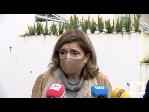 VÍDEO: Declaraciones de la Delegada Territorial de Salud, Mª Jesús Botella, sobre el futuro Hospital de Lucena