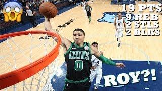 Jayson Tatum DESTROYS Memphis!! INSANE Dunks   Celtics vs Grizzlies!