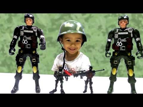 Игрушки Фикс Прайс Солдатики Большие и Маленькие Игры для мальчиков Видео для детей