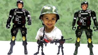 Игрушки Игры для мальчиков Фикс Прайс Солдатики Большие и Маленькие Видео для детей
