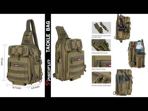 Pack all your GEAR in one Bag — Piscifun Waterproof Tackle Bag