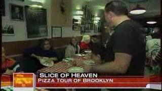 A Slice Of Brooklyn Pizza Tour on The Today Show