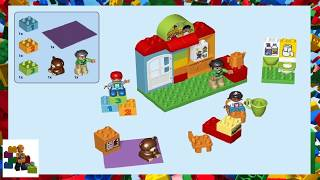 LEGO instructions - DUPLO - 10833 - Nursery School