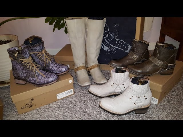 Freebird Boots   Unboxing and Initial
