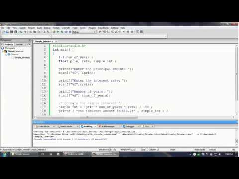 How To Debug a C program in Code Blocks IDE