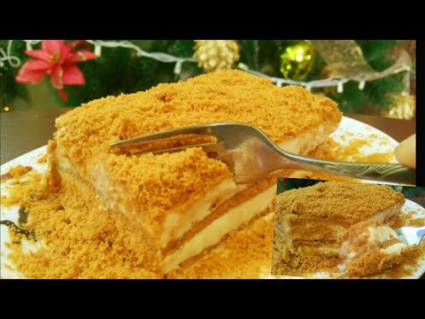 No Bake Graham Cake (4 ingredients)