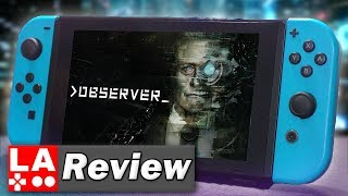 Observer Nintendo Switch Review (Video Game Video Review)