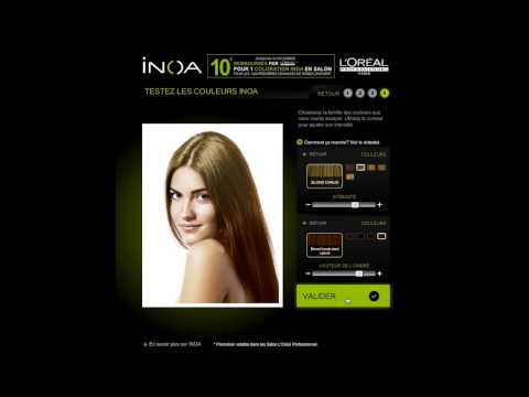 exprience inoa 10 sur votre coloration loral professionnel - Coloration Inoa
