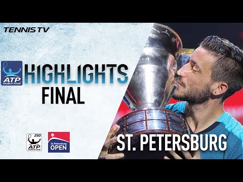 Dzumhur Beats Fognini In St Petersburg Final Highlights