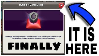 FINALLY RUNE OF DARK ELIXER IS HERE 😱😱| BEST CLAN GAME EVER | CLASH OF CLANS