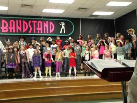 Cleburne Marti Elementary American Bandstand Concert