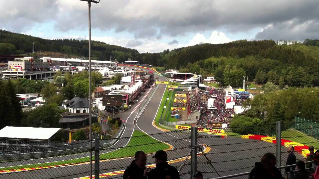 gold 3 grandstand view f1 2011 belgium spa francorchamps youtube. Black Bedroom Furniture Sets. Home Design Ideas