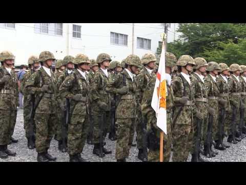 大津駐屯地祭 女性自衛官 集合~観閲行進 2015