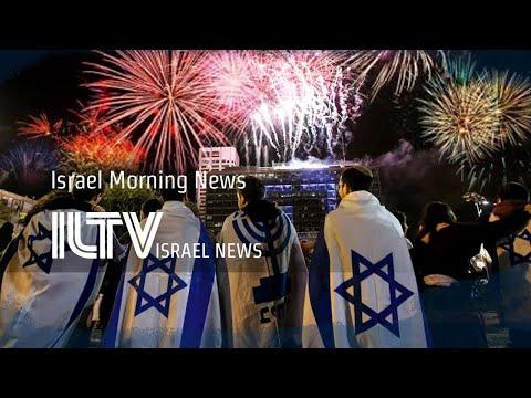 Israeli New Year Celebrations Fall Mute By Comparison - ILTV Israel News - Jan. 1, 2020