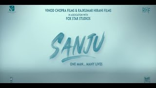 sanju movie title making in after effect