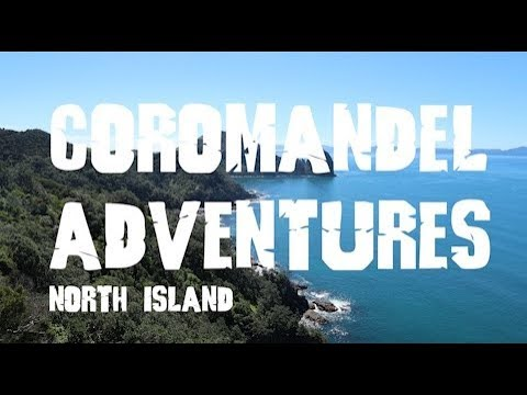 Coromandel adventures: Hot Water Beach, Cathedral Cove & Coastal Walk! Vlog 31
