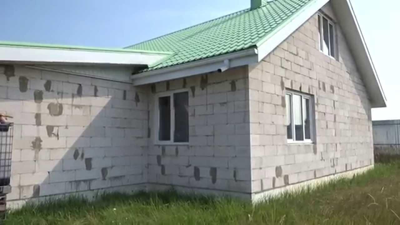 Строю дом из газосиликатного блока