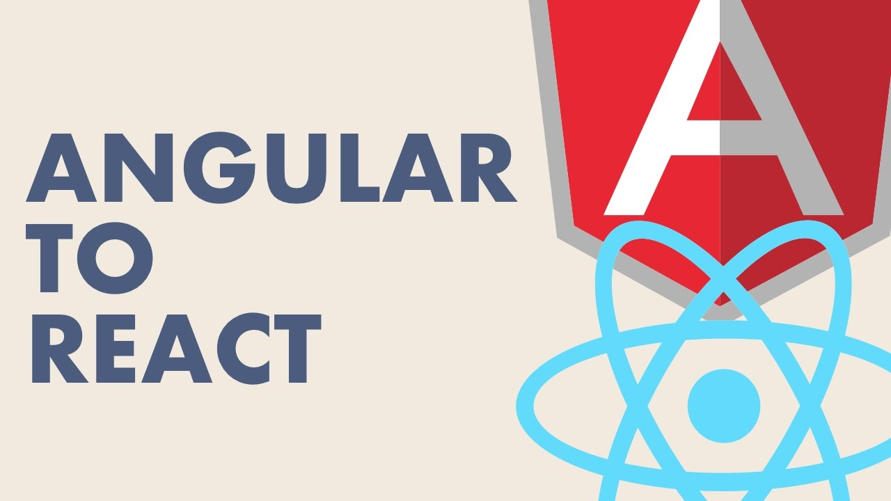 From Angular to React - Jack Franklin   April 2017 by Frontend NE