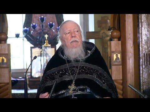 Протоиерей Димитрий Смирнов. Проповедь на вынос Плащаницы
