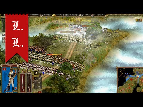 """Cossacks 2 Battle for Europe. The honor of the Polish crown (Poland) - """"Repel Austrians"""" Part 5/5"""