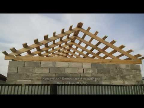 Крыша, перекрытия, стропила, окна, потолок. #26