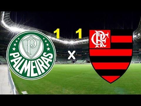 Palmeiras 1 x 1 Flamengo - Melhores momentos 14/09/2016