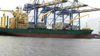 Cargo Ship Load Unload at Cochin