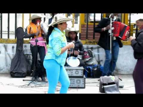 Women Dancing in Market-Bogota, Colombia