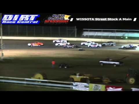 North Central Speedway 8 9 14 WISSOTA Street Stock Races