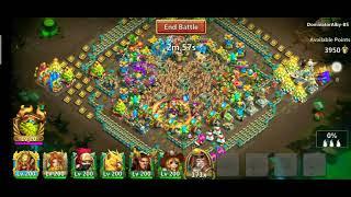 Guild War Vs Top 1 Guild CASTLE CLASH Blacksies. Bomber Hero screenshot 5