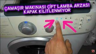Çamaşır makinası ARIZASI- Cift lamba HATASI - Washing machine FAULT- Double lamp ERROR