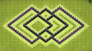 Clash Of Clans - Layout de Farm para Centro de Vila 6 (Town Hall 6 Farming Base)
