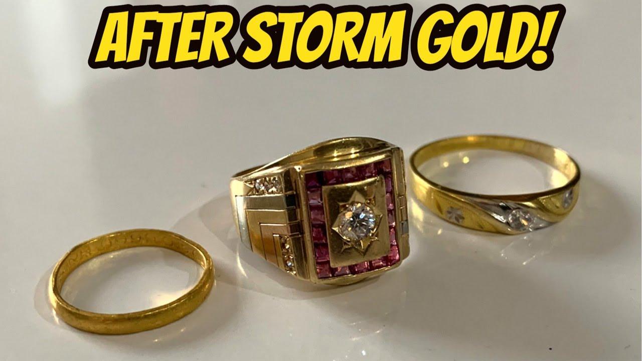 Gold Jackpot! - Beach Metal Detecting after Typhoon