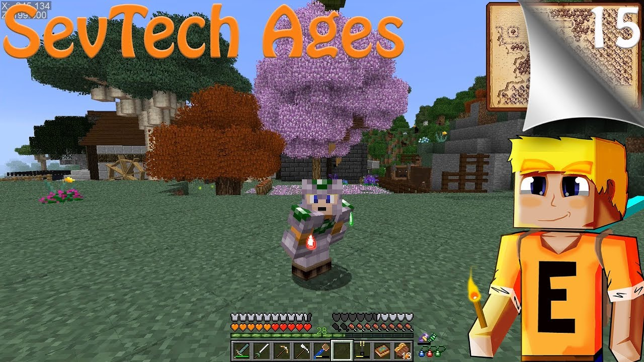 SevTech Ages EP15 - Better Ore Excavation