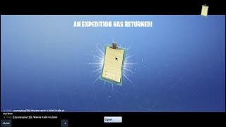 Fortnite Save The World | 800 vBuck Reward Day 112