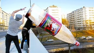 Download WORLDS BIGGEST BOTTLE FLIP (WORLD RECORD) Mp3 and Videos